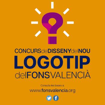 Diseño Concurso Logotipo Fons Valencià 2017